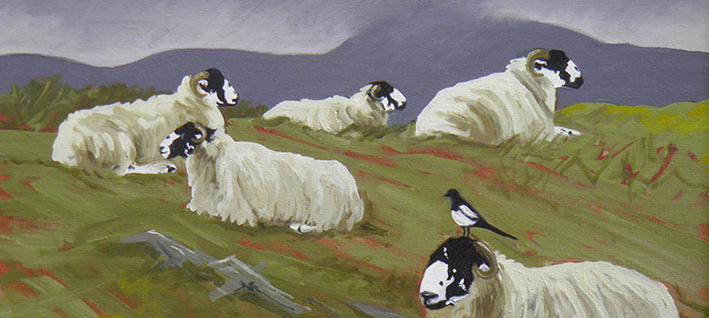 Rough fells and magpies